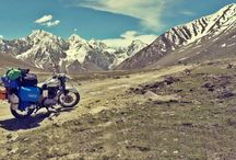 Biking with Boundless / This is an exclusive biking trip from Leh to Pangong Lake and back. It includes 2 Bikes and a Tempo Traveller for a total group size of 10 people. A Local guide who has expertise in doing biking trips in and around Leh will accompany throughout for 5 days