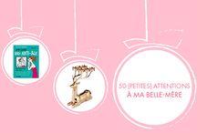 ⁞ Cadeaux belle-maman ⁞