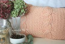 DIY : Aiguilles / Réalisations avec des aiguilles à tricoter