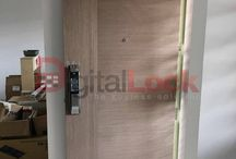 Samsung SHS-P718 Digital Lock / Over here you can see all the photos related to the Samsung Fingerprint Digital Lock, SHS-P718. Be it on a HDB door or Condominium door, we have it all! Call our sales hotline 92229315, or you can take a look at our products on our website, http://www.mydigitallock.com.sg/products/samsung-digital-door-lock.html