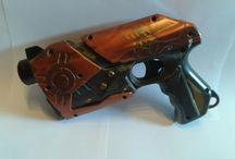 Steampunk Guns And Stuff