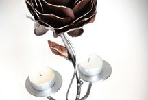 Weldeco / Candlestick Rose