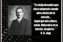 JUNG MI MAESTRO / Desde que escuché una historia de un amigo del porque el se llamaba Carl, y descubrí a Jung, a sido un maestro omnipresente, es un papá adoptado