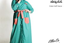2015 - Ramadhan Edition - Ashalina Maxi Dress / Ramadhan Edition : Maxi dress, material IMA Cotton which specially designed for sophisticated curvy women originally made by Indonesian Designer & Local Brand: Ella Es Bonita.