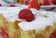 Ciasta z truskawkami