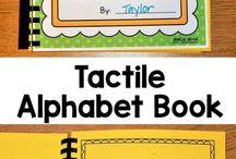 Tactile alphabet