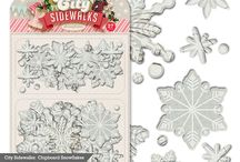 City Sidewalks Collection / Our vintage inspired Christmas collection is perfect for all of your handmade holiday crafts:  cards, treat toppers, goodie bags, napkin rings, gift tags and so much more!  Not to mention how lovely these products are for your December Daily albums or layouts.  / by Pink Paislee