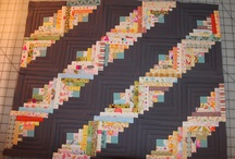 quilts: log cabin