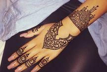 Henna / Henna tattoo hand