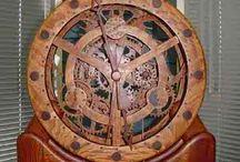 Wooden clock / Clock