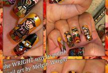 Holiday Season inspired nail art!