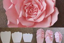 Цветы из бумаги / бумага и творчество