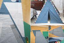 Teepee tents ideas