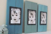 Picture display ideas / by Sara McMillian