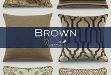 Brown Accent Home Decor / Home decor with the accent color of brown.