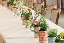 decoração criativa para mesas