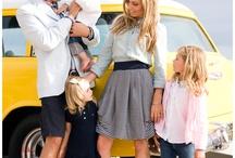 Stylish Family / Family photo session inspiration.