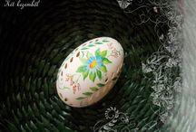 Két kezemből - Csipkézett libatojások / Ezeket a csipkézett tojásokat 2014-ben készítettem.