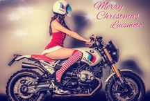 Merry Christmas Luismoto / BMW R NineT Paris Dakar / Merry Christmas 2015 by Luismoto / BMW R NineT Paris Dakar