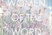 Women of the Word / The blog and page was created to be used as a platform for women to share their testimonies and lives with others. May this page and the stories be a blessing to you.