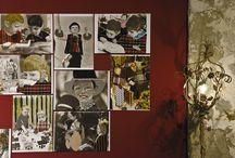 GIRO GIRO TONDO, CASCA IL MONDO,... / Questa nuova serie di opere di Antonio Marras sono immagini tratte dalla 'propaganda' sovietica degli anni Sessanta, e del grande archivio immagini di quegli anni Marras ha scelto i bambini, figure che vengono presentate nel momento della loro formazione. Le foto utilizzate da Marras sono dell'archivio fotografico dell'Associazione Italia Russia. / by Antonio Marras