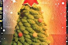 Christmas tree crochet pattern and projects  / by LittleOwlsHut