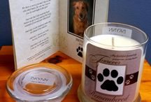 Pet Memorial Candles By Eco Earth Candles / by EcoEarth Candles