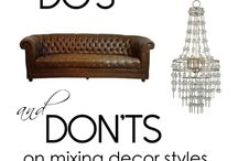 Home Dos and Don'ts / Some tips on what to do and what not to do in your home