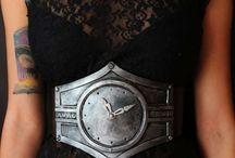 watch steampunk belt