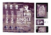 I'm single / Progetto per la festa dei single del Boccio di Lezzeno.