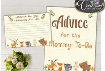 Baby Shower Woodland Games, Invitations, Decorations and more... / Hi, thank you for visiting this beautiful woodland baby shower board with forest animals. Here you can find a lot of baby shower decorations and activities with over 40 listings in this theme.