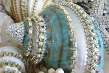 Shells with bling