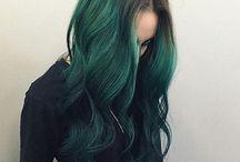 zöld haj♥