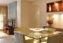Sala de estar e jantar / Casa