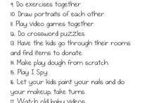 Au pair ideas