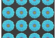 Floral Fabric / A variety of floral print and flower patterned craft, wedding, home decor, and other fabric for those who love to sew and create do-it-yourself / DIY crafts.