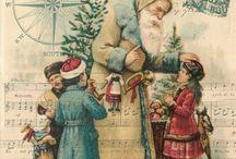 santa and christmas