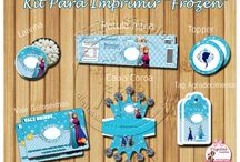 "KIT ""FROZEN"" / http://digitalsimples.blogspot.com.br/2015/09/festa-tema-frozen-para-imprimir-gratis.html"