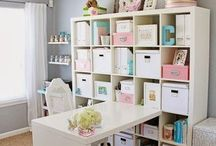 Craft room ideas / by Star Bound Horses and Western Gifts