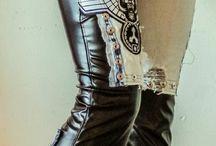 cuir & jeans