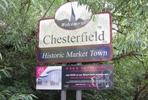 Chesterfield's Crooked Spire - Historic, Iconic / A board inspired by a public argument between the community of Chesterfield and its Council leaders. One launched signs minus the historic and iconic Spire the other fought and won to have it returned.  / by Andrew Coulson