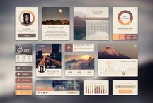 UX Interface / Clean and Simple