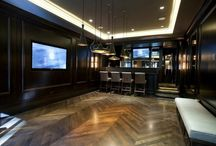 Sports Bar scheme / Ideas and inspiration for a sports bar scheme - however with out being too obvious