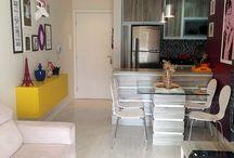 Apê - sala + cozinha