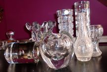 European glass and cristal / European cristal and glass