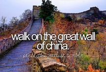 Bucket list / I so want to do everything on my bucket list before I die!