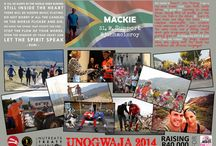 A journey of the heart #Unogwaja / Stories of individuals coming together to make a positive impact in the lives of South Africans.   They wear read socks and call themselves Unogwajas  In collaboration with The Unogwaja Challenge