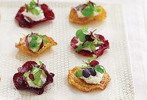 Wedding Reception Food Ideas / Ideas & recipes for your wedding reception menu. / by Martha Stewart Weddings