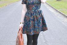 Den perfekte blomstrete kjolen