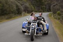 Crazyhorse Trike Tours / Crazyhorse Trike Tours and Joy Rides on Great Barrier Island